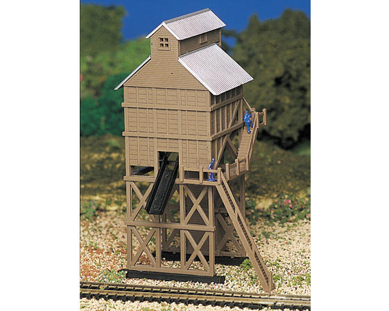 N-Scale Platicville Built-Up Coaling Station