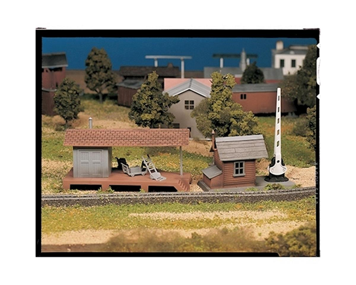 Bachmann O Snap KIT Loading Platform w/Crossing Shanty