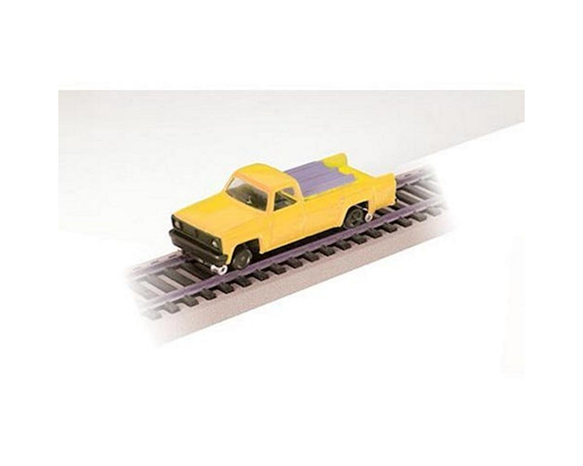 Bachmann HO Pick Up Truck w/Highrailers