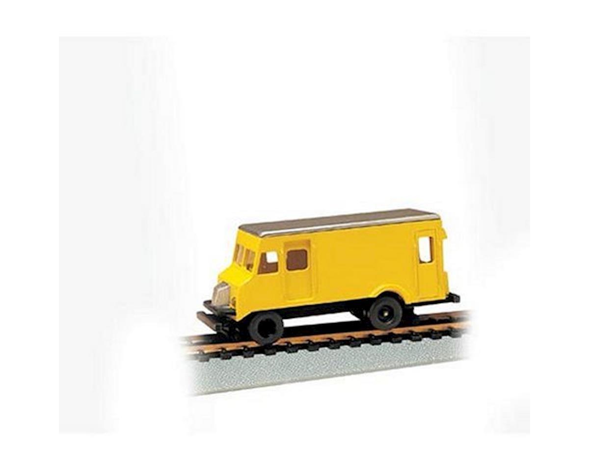 Bachmann HO Rail Detector Step Van w/Highrailers