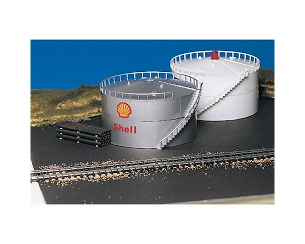 Bachmann HO Oil Storage Tank w/Diesel Horn