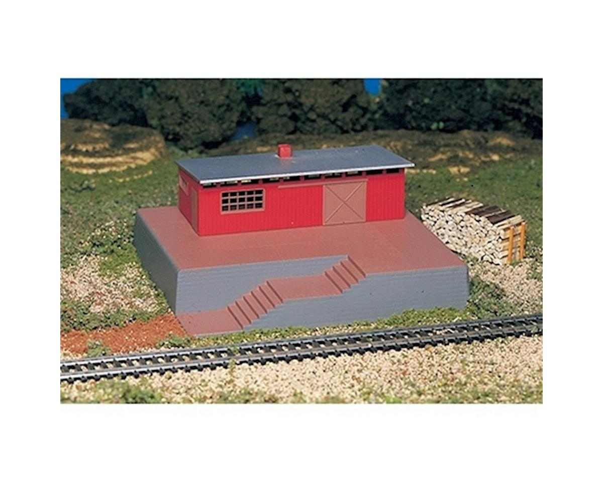 Bachmann HO Storage Building w/Steam Whistle