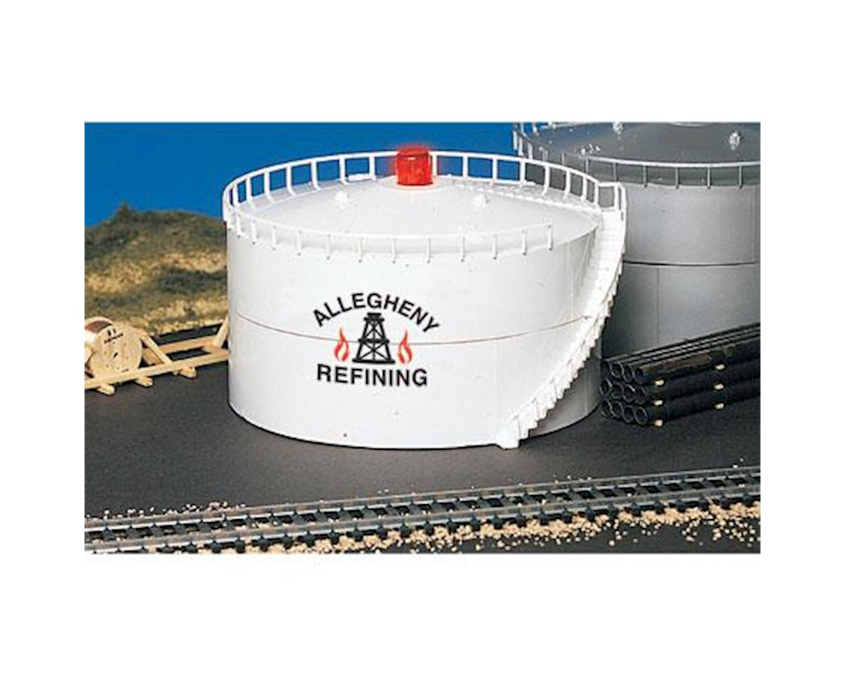 Bachmann HO Oil Storage Tank, Allegheny Oil/Lighted