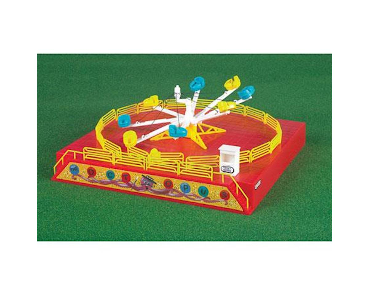 HO Operating Carnival Ride, Octopus Ride by Bachmann