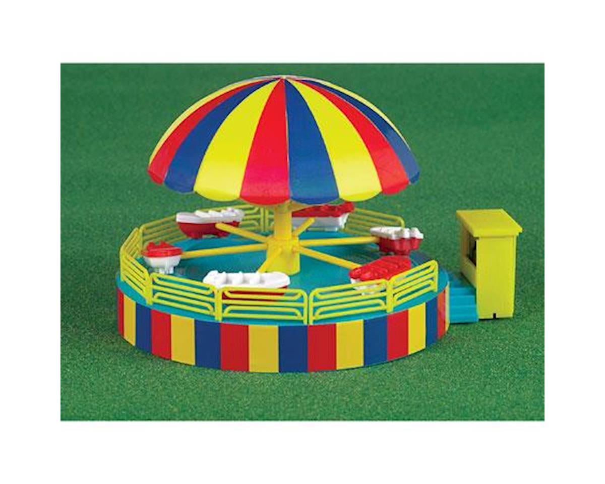 Bachmann HO Operating Carnival Ride, Kiddie Boat Ride