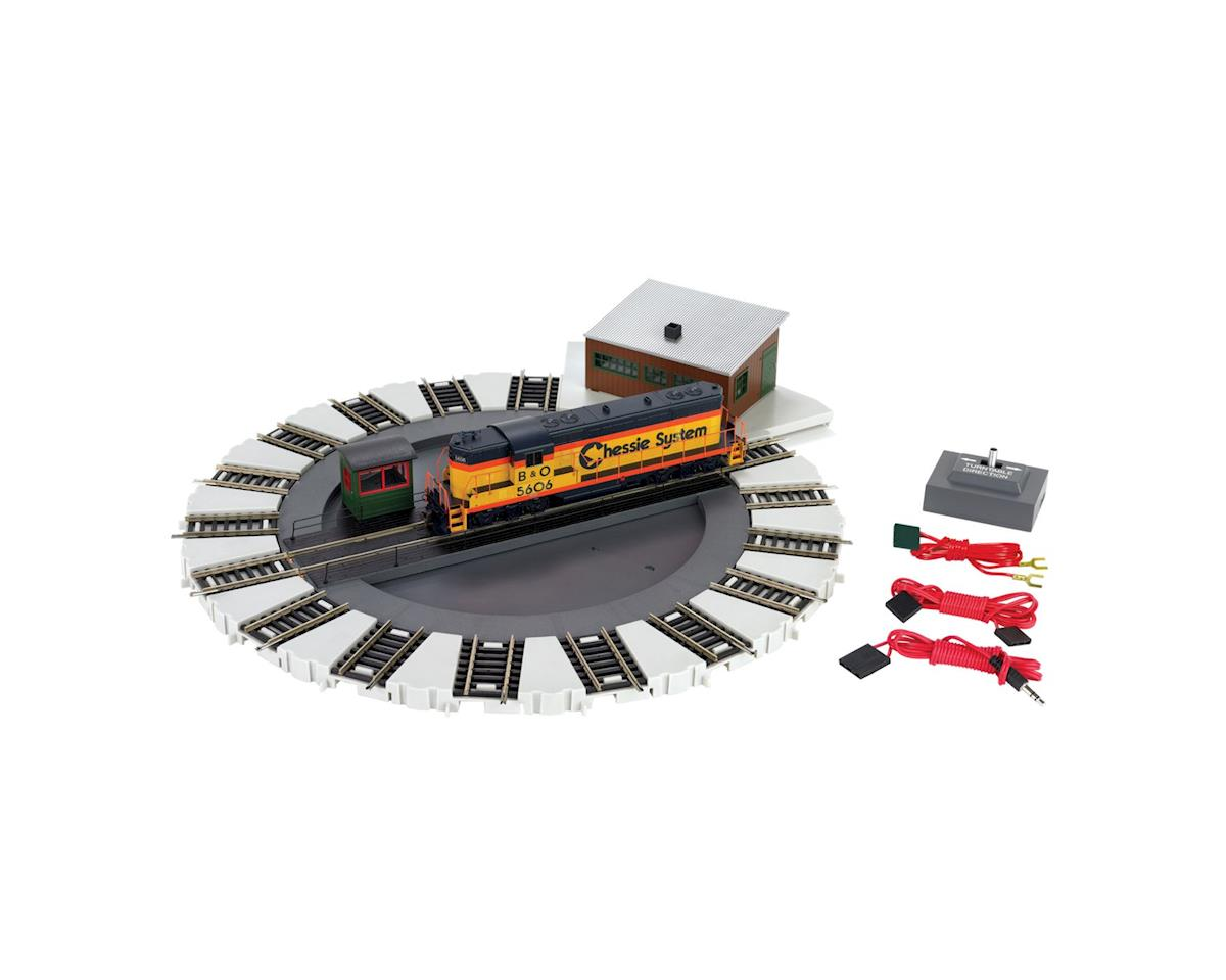 HO Motorized Turntable by Bachmann