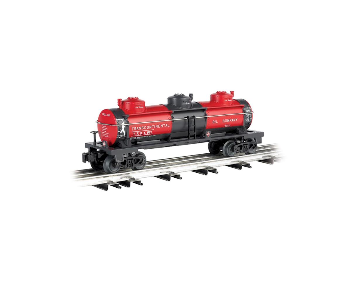 Bachmann O Williams 3-Dome Tank, Trans Oil Co.