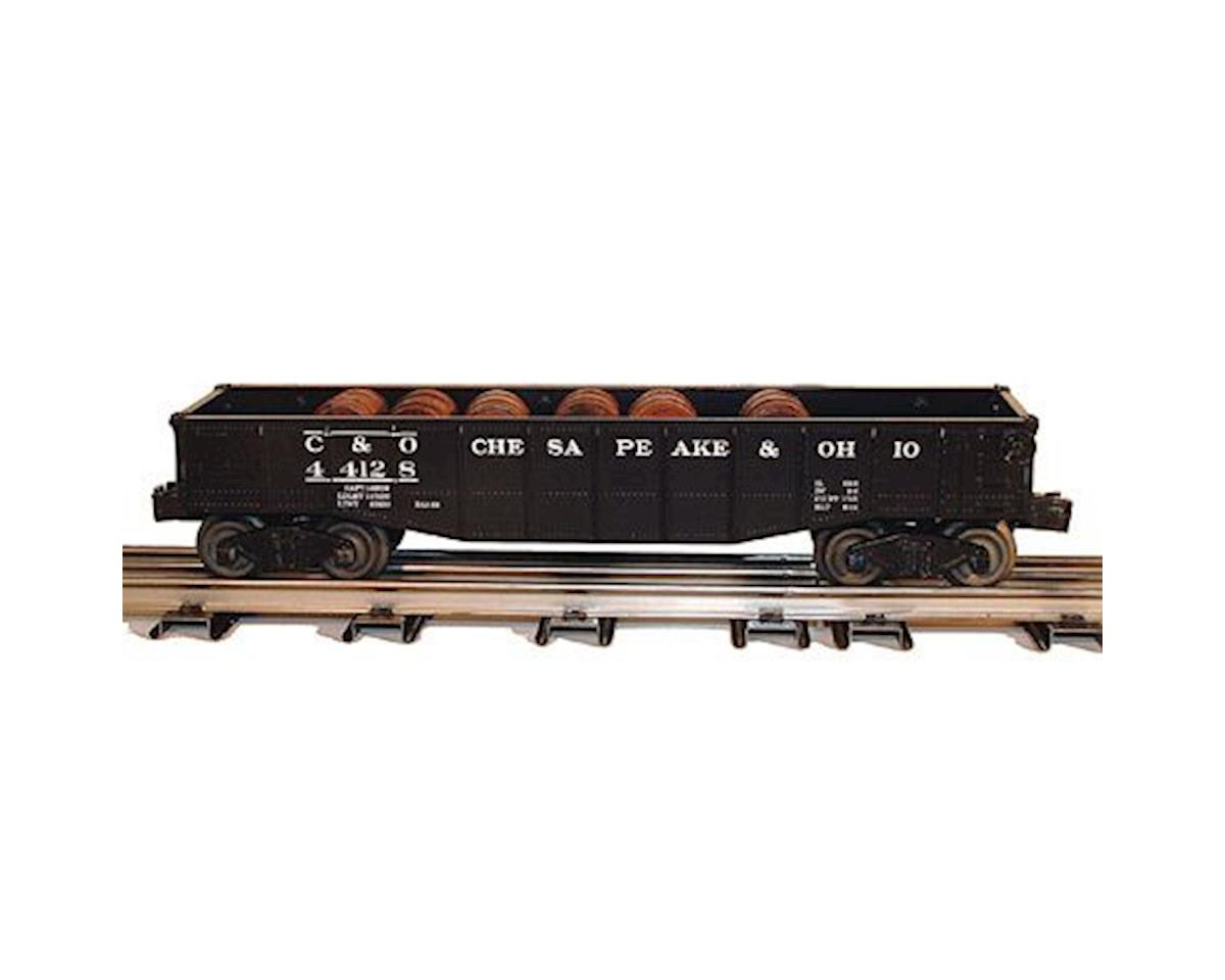 Bachmann O Williams Gondola w/Barrels, C&O