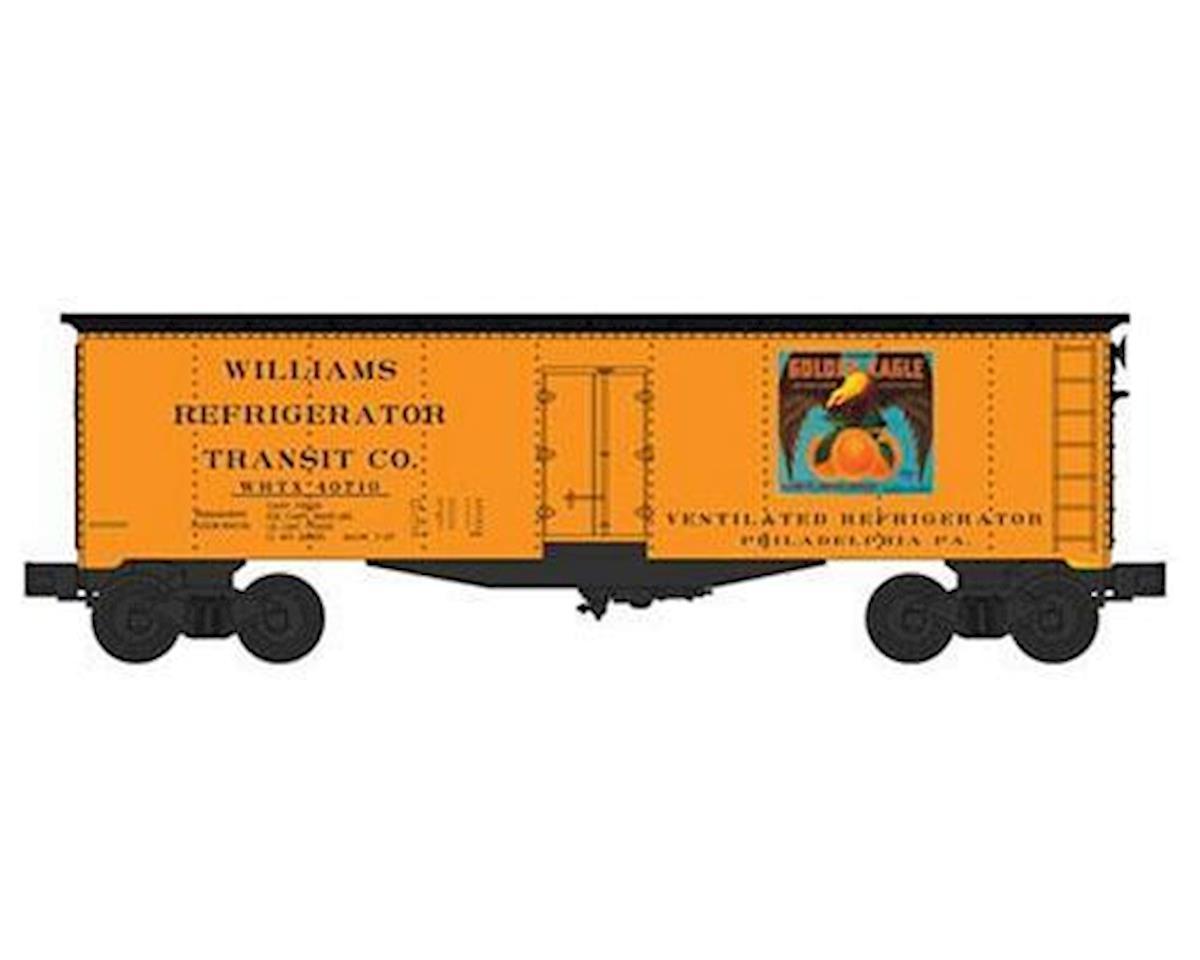 Bachmann O Williams 40' Reefer, Golden Eagle Oranges