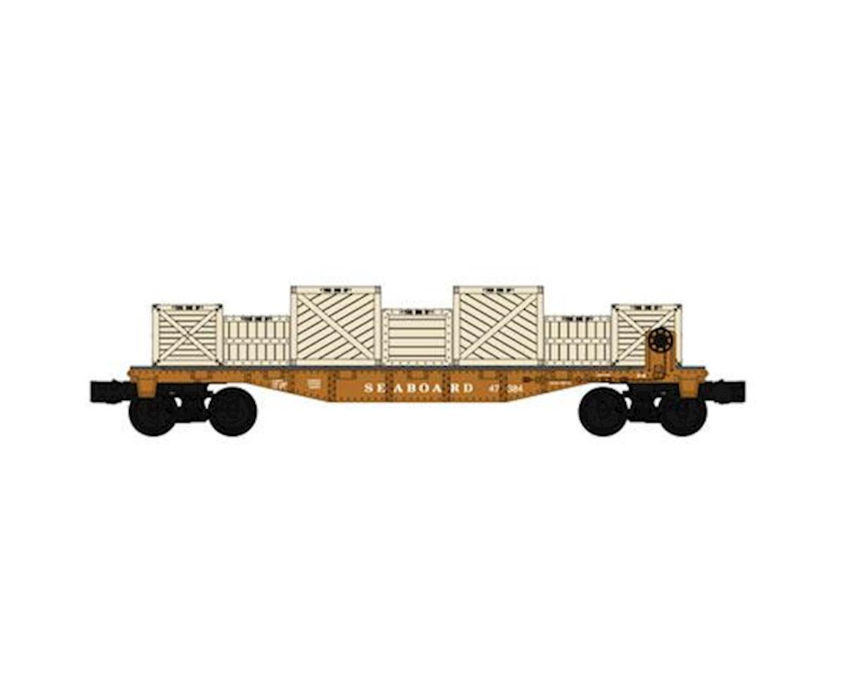 O-27 Williams 40' Flat w/Crate Load, SBD by Bachmann