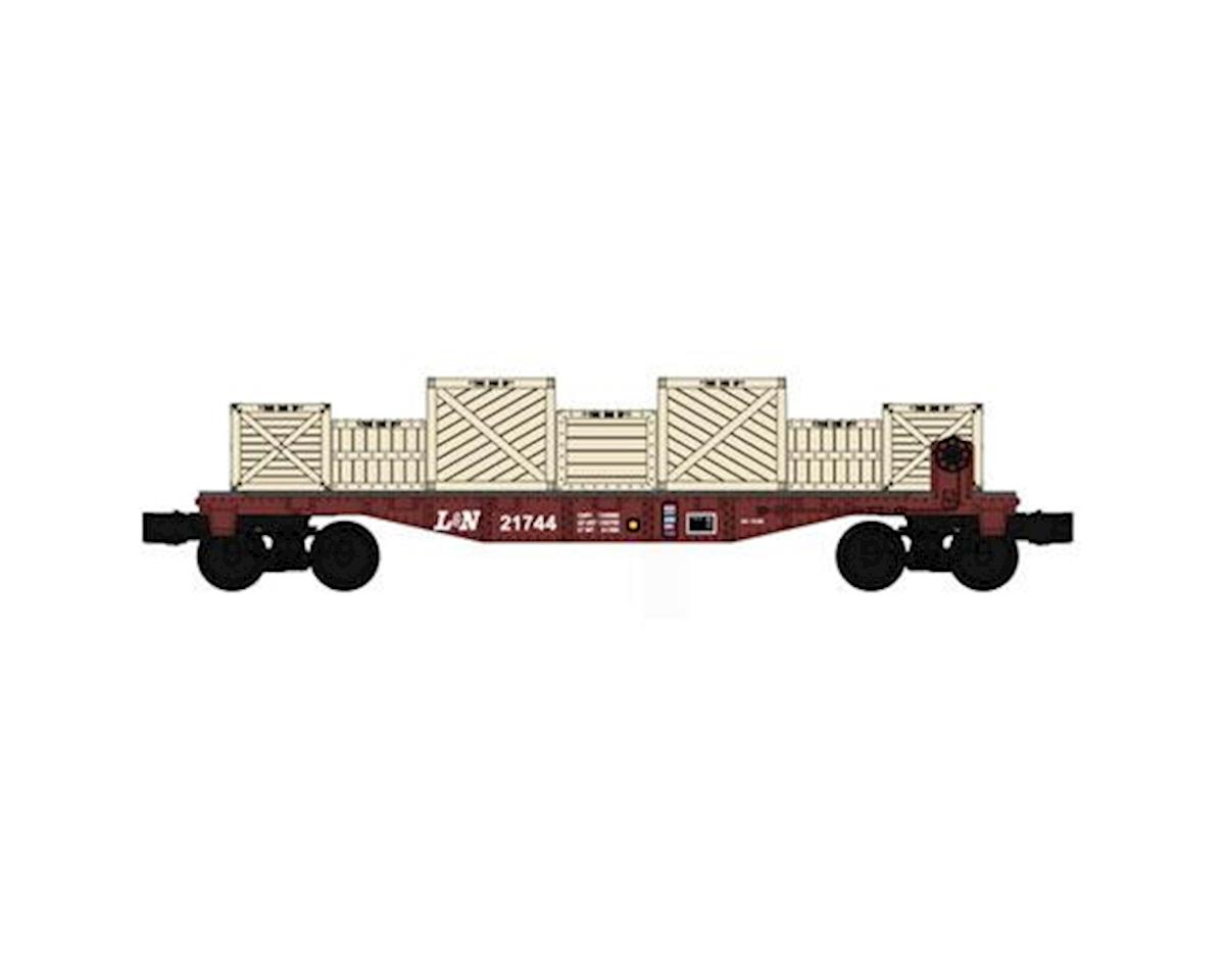 Bachmann O-27 Williams 40' Flat w/Crate Load, L&N