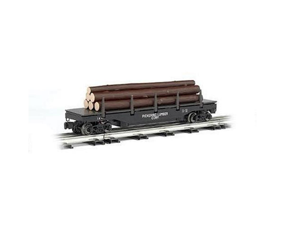 Bachmann O-27 Williams Operating Log Dump Car, Pickering