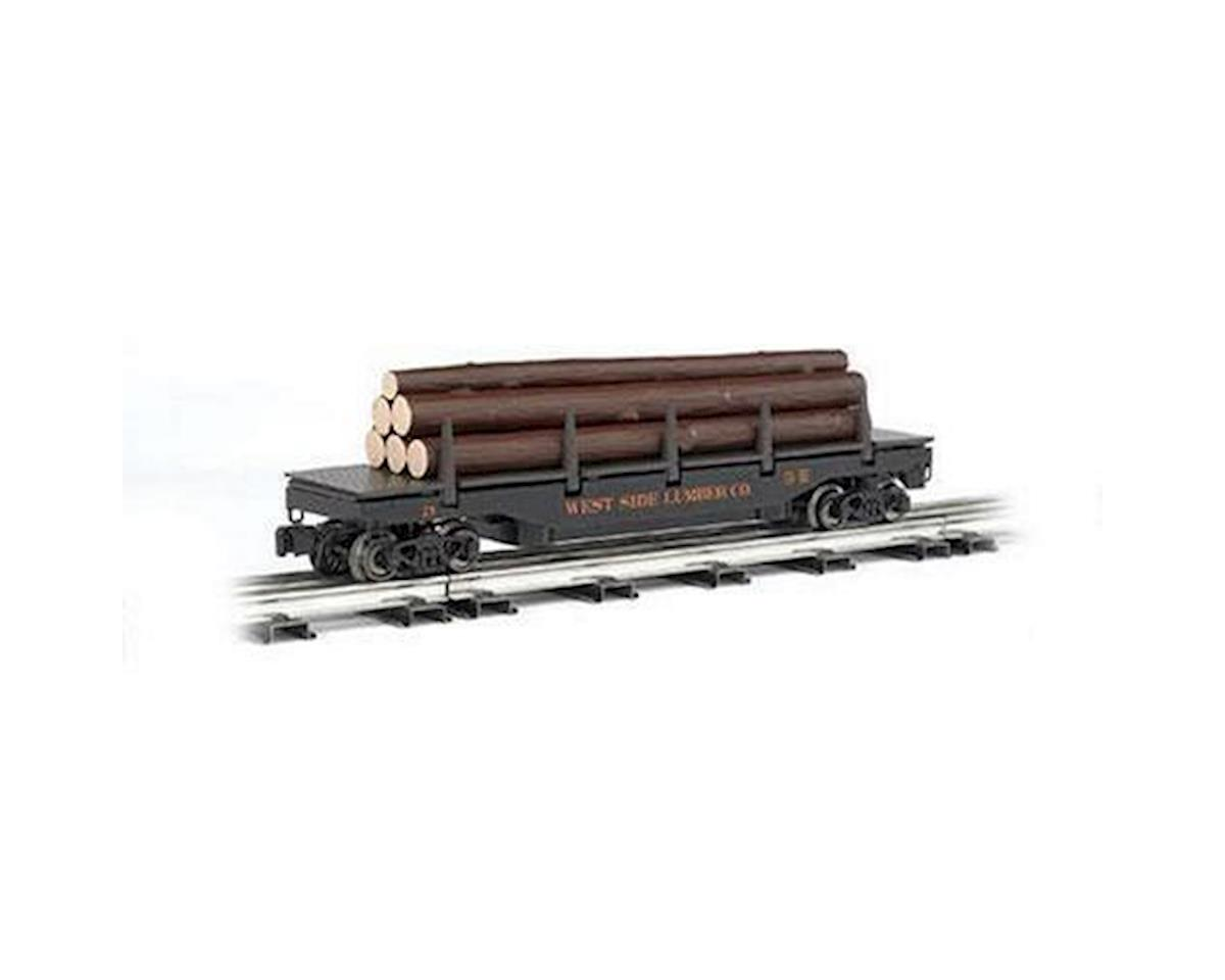 Bachmann O-27 Williams Operating Log Dump Car, West Side