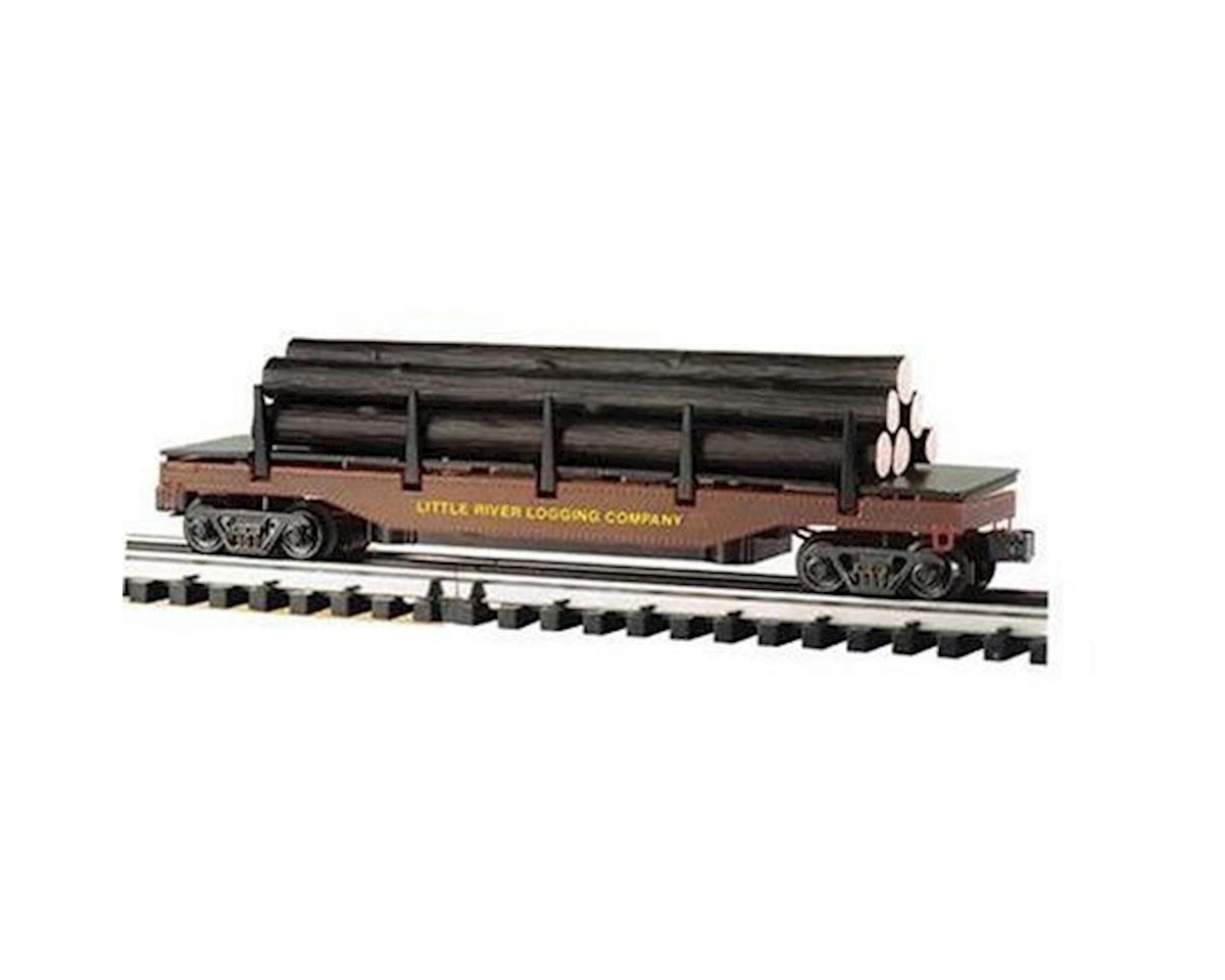 Bachmann O-27 Williams Operating Log Dump Car, LRL