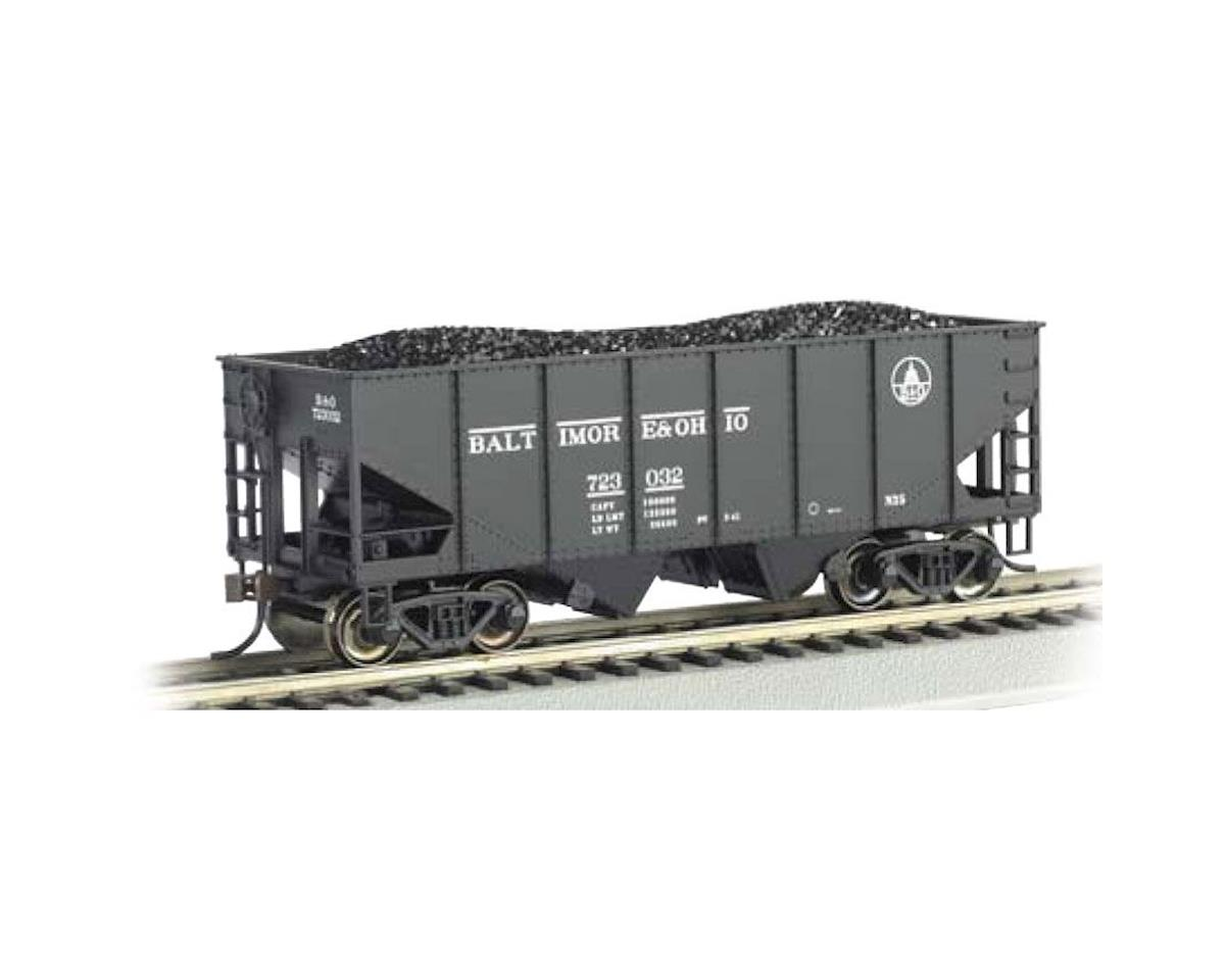 Bachmann O Williams 55-Ton 2-Bay Hopper w/Load, B&O