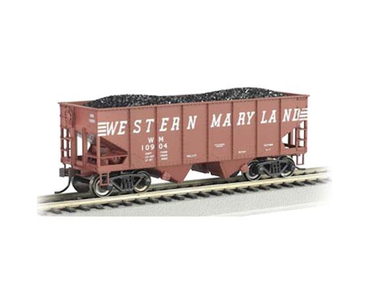 Bachmann O Williams 55-Ton 2-Bay Hopper w/Load, WM
