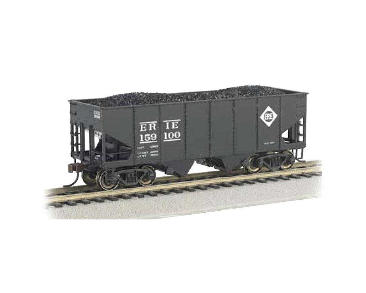 O Williams 55-Ton 2-Bay Hopper w/Load, Erie by Bachmann