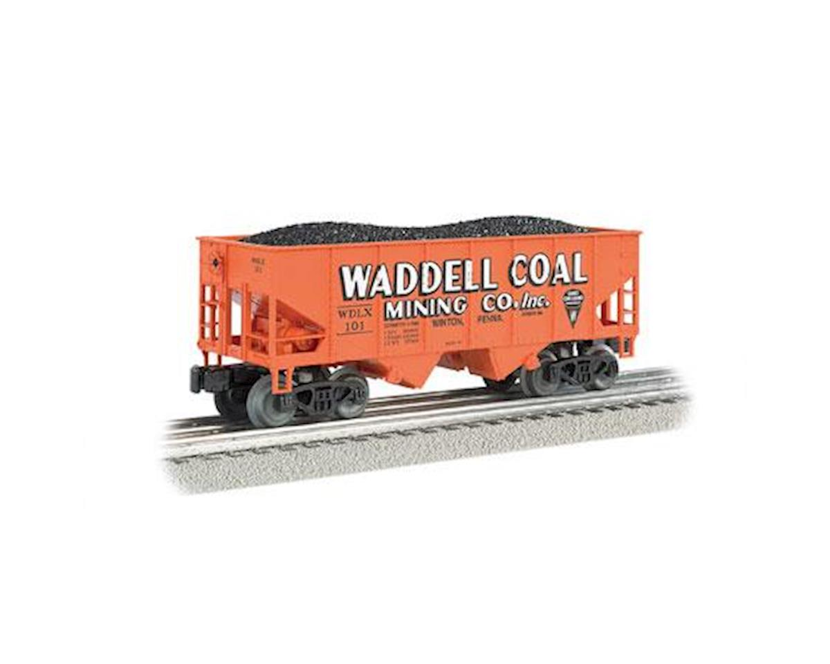 Bachmann O Williams 55-Ton 2-Bay Hopper w/Load,Waddell Coal