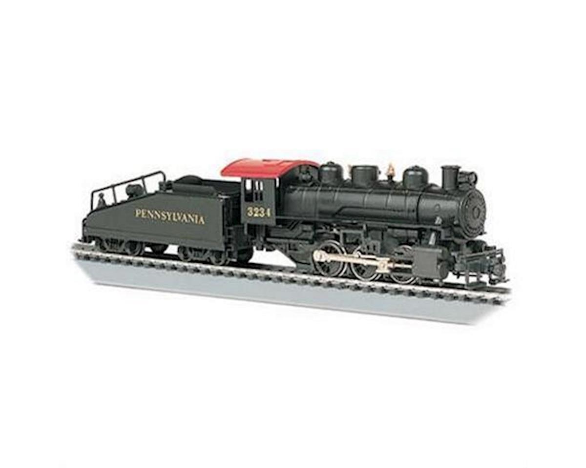 Bachmann HO RTR USRA 0-6-0 w/Tender & Smoke, PRR #3234
