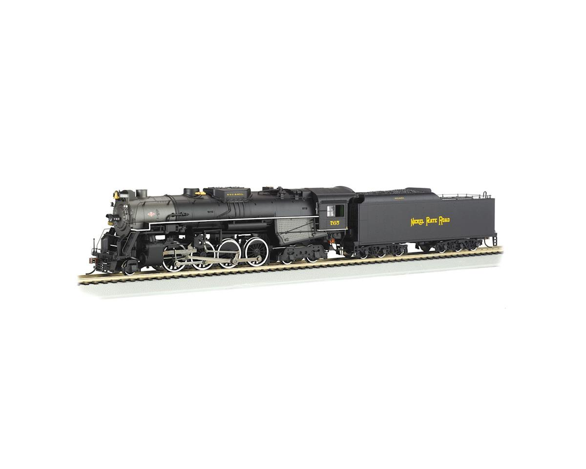 HO 2-8-4 w/DCC, NKP/Rail Fan by Bachmann