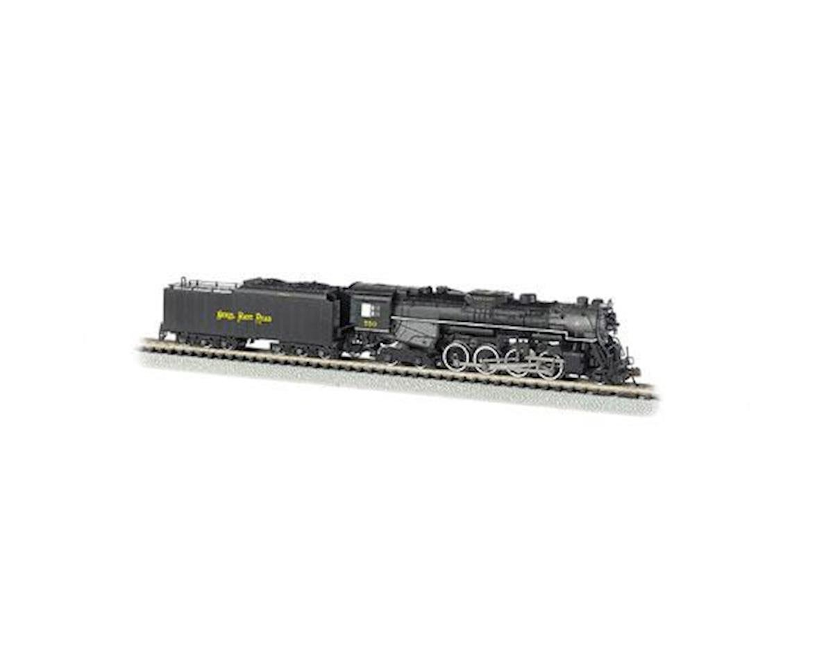 Bachmann N 2-8-4 w/DCC & Sound Value, NKP/Railfan #759