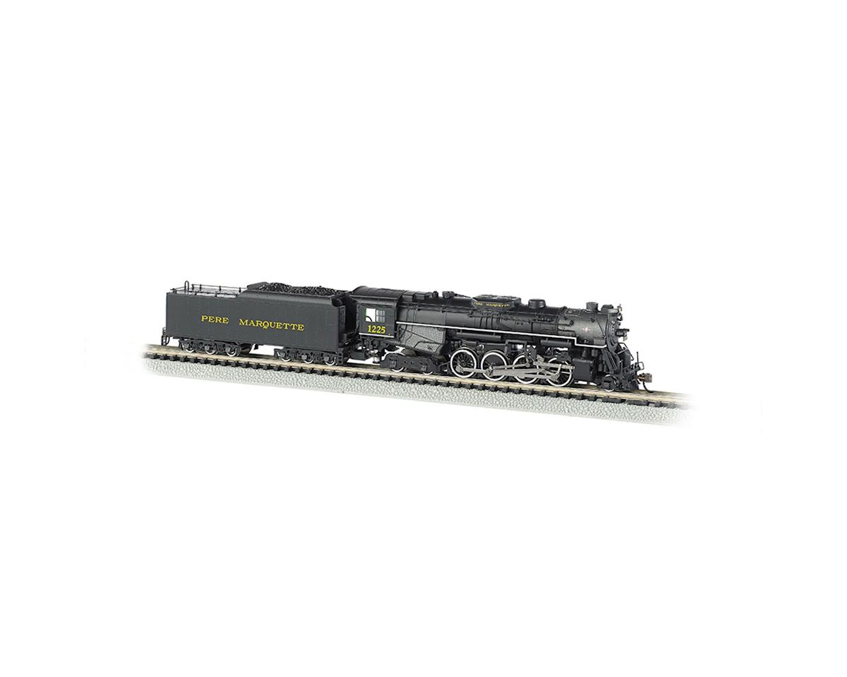 Bachmann N 2-8-4 w/DCC & Sound Value, PM #1225