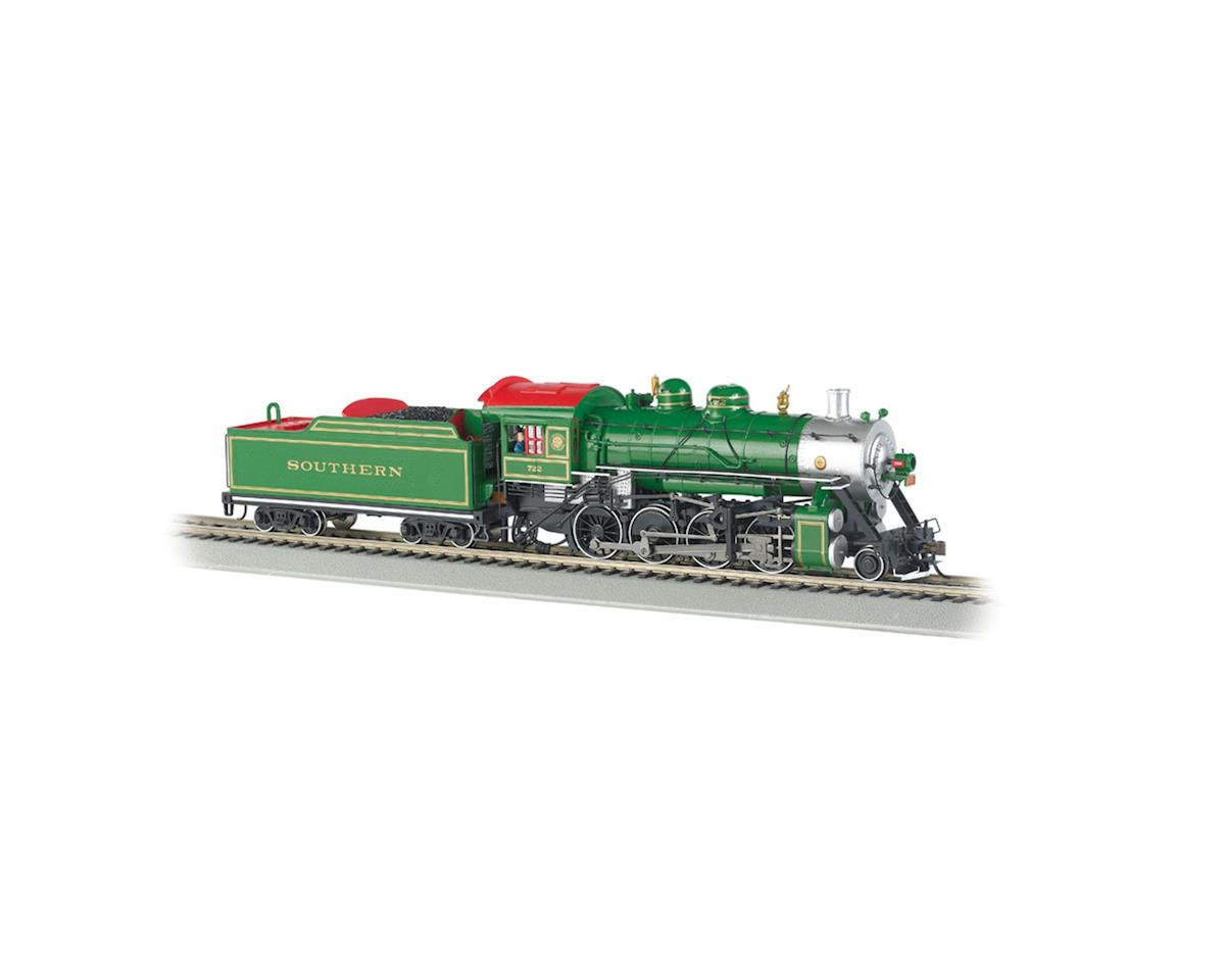 HO 2-8-0 w/DCC, SOU/Green #722 by Bachmann
