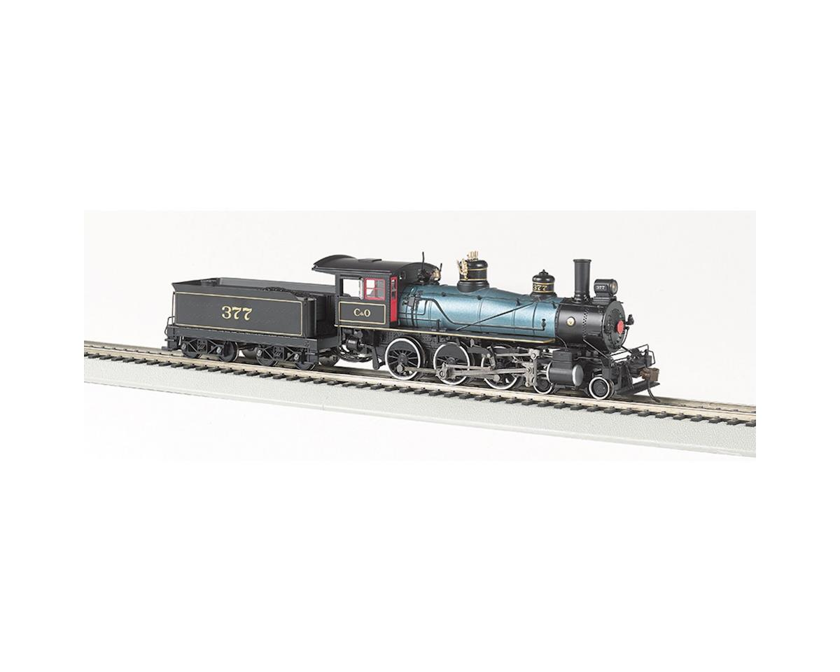 HO 4-6-0 w/DCC & Sound Value, C&O by Bachmann