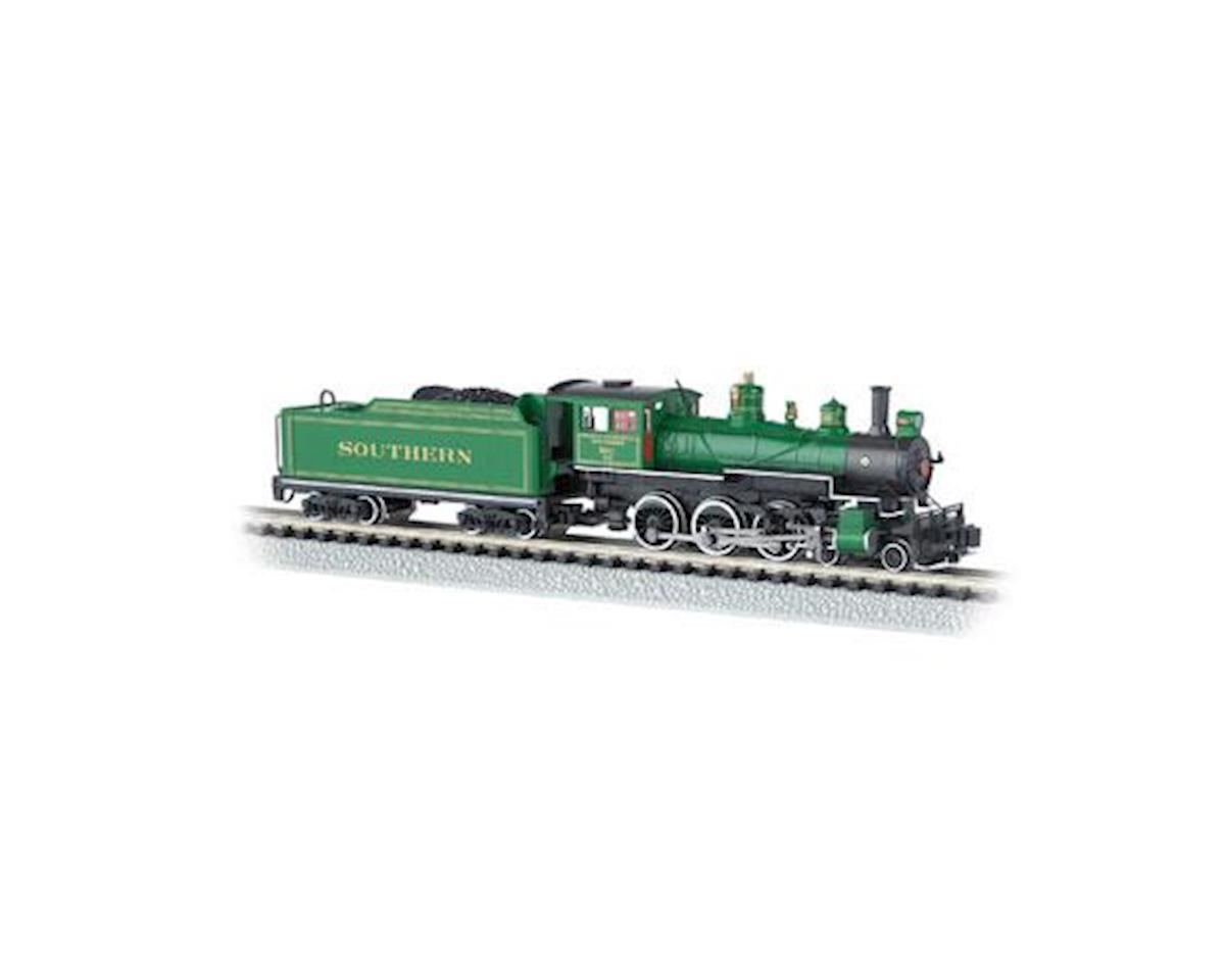 Bachmann N 4-6-0 w/DCC, SOU/Green w/Gold Stripes #1012