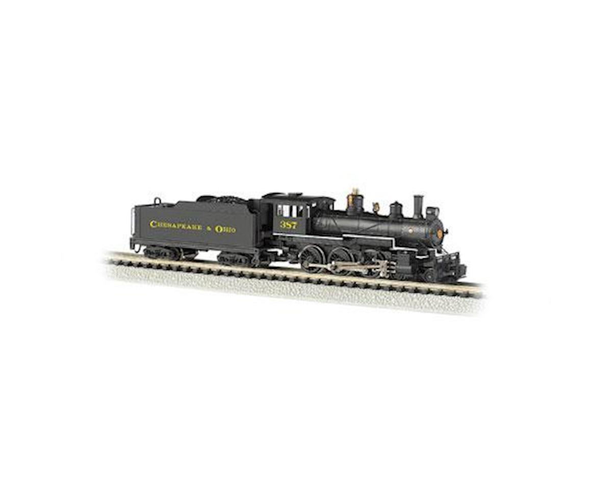 Bachmann N 4-6-0 w/DCC, C&O/Black/Yellow #387