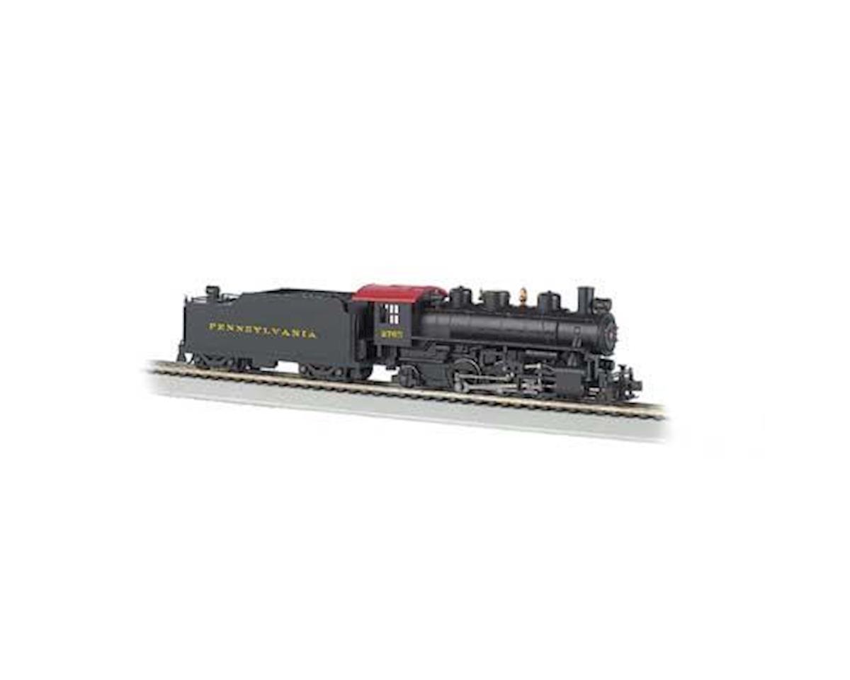 Bachmann HO 2-6-2 Prairie w/Smoke & Tender, PRR #2765