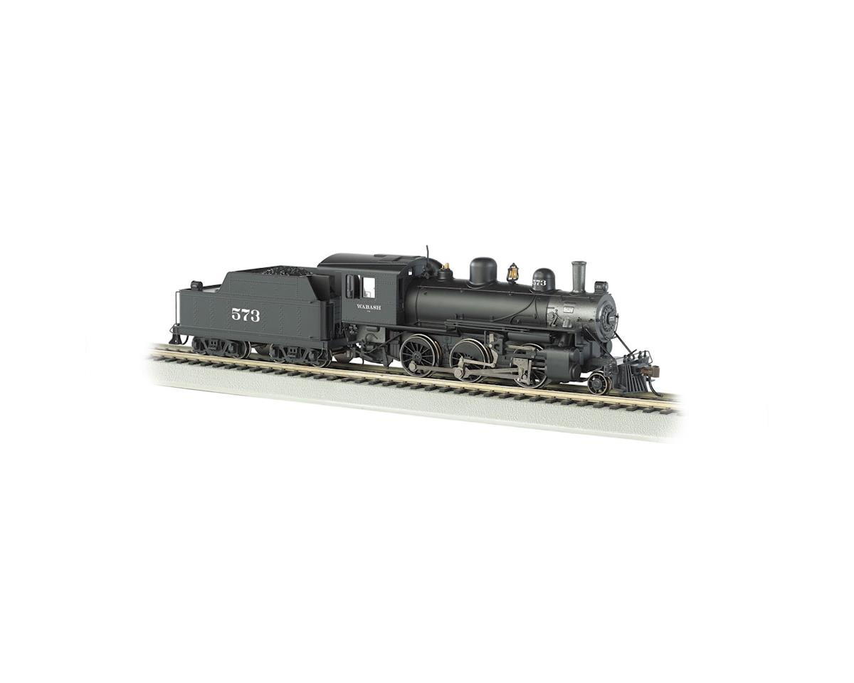 HO 2-6-0 Mogul w/DCC &Sound Value, WAB #573 by Bachmann