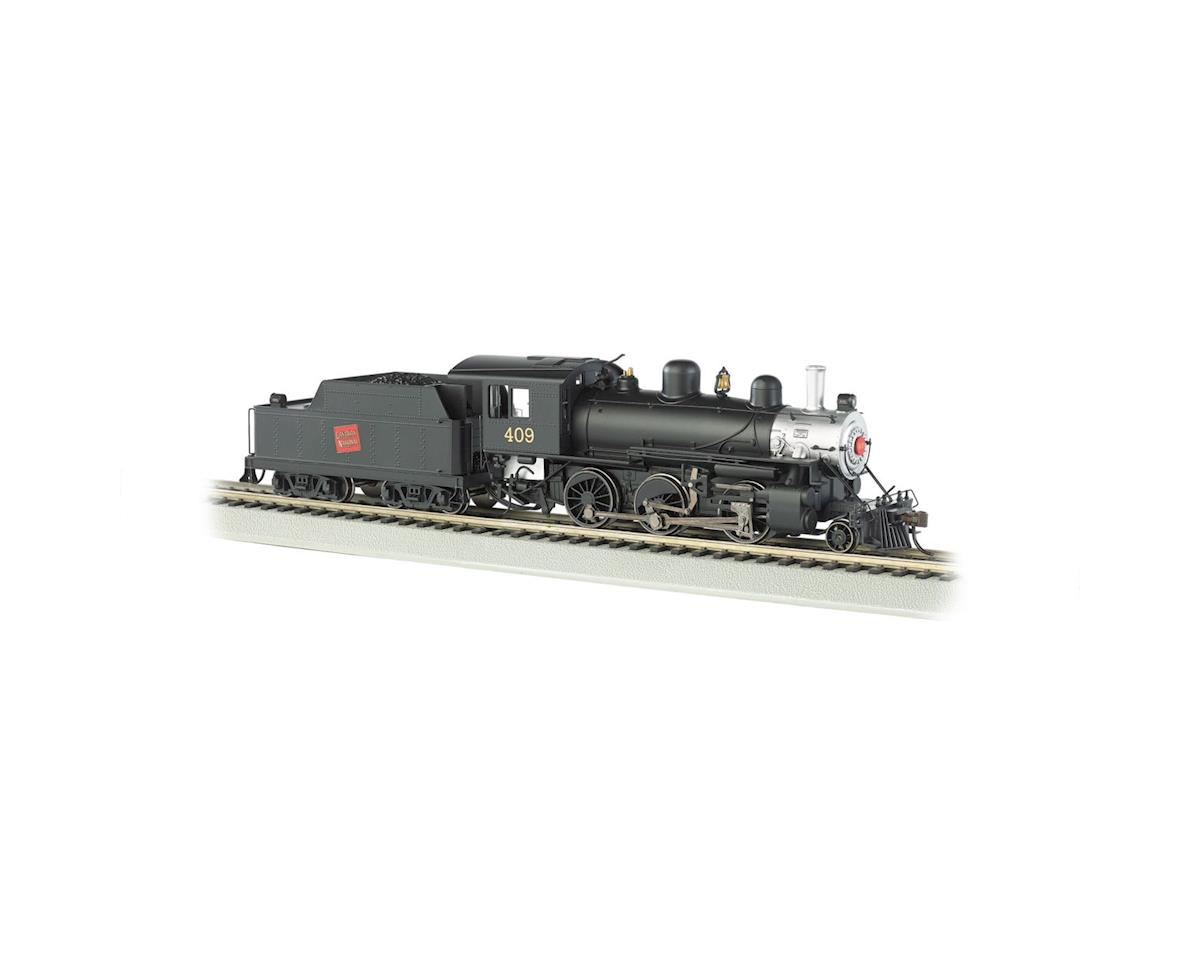 HO 2-6-0 Mogul w/DCC &Sound Value, CN #409