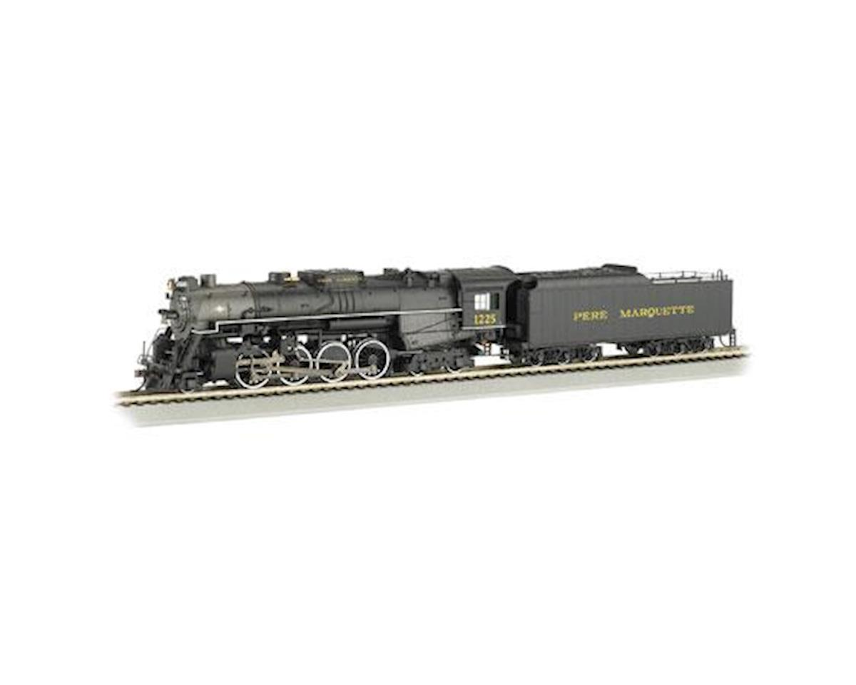 HO 2-8-4 w/DCC & Sound Value, PM #1225 by Bachmann
