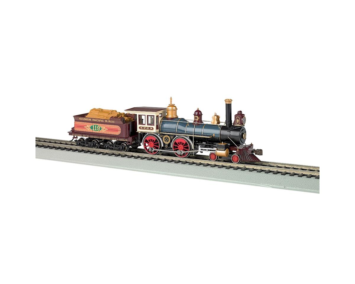 Bachmann HO 4-4-0 w/DCC & Sound Value, UP #119