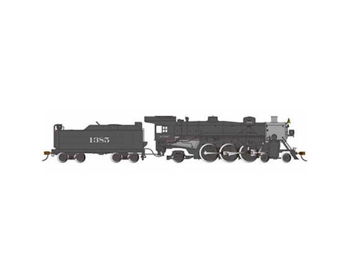 Bachmann HO  Light Pacific 4-6-2 w/DCC & Sound Value, SF