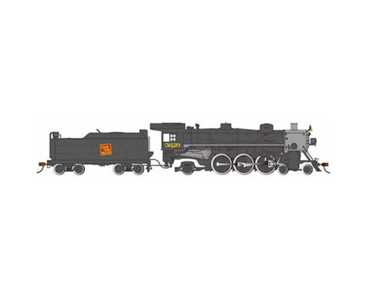 Bachmann HO  Light Pacific 4-6-2 w/DCC & Sound Value, GTW