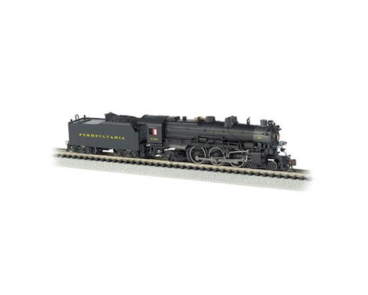 Bachmann N K4 4-6-2 w/DCC & Sound Value, PRR/Post-War #3750