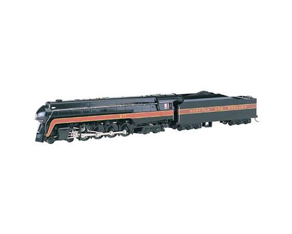 HO Class J 4-8-4 w/DCC & Sound Value, N&W/Railfan by Bachmann