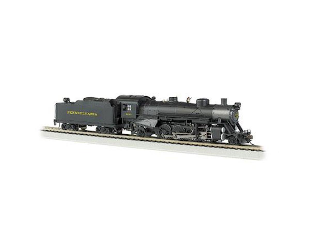 Bachmann HO 2-8-2 Light w/DCC & Sound Value, PRR #9630