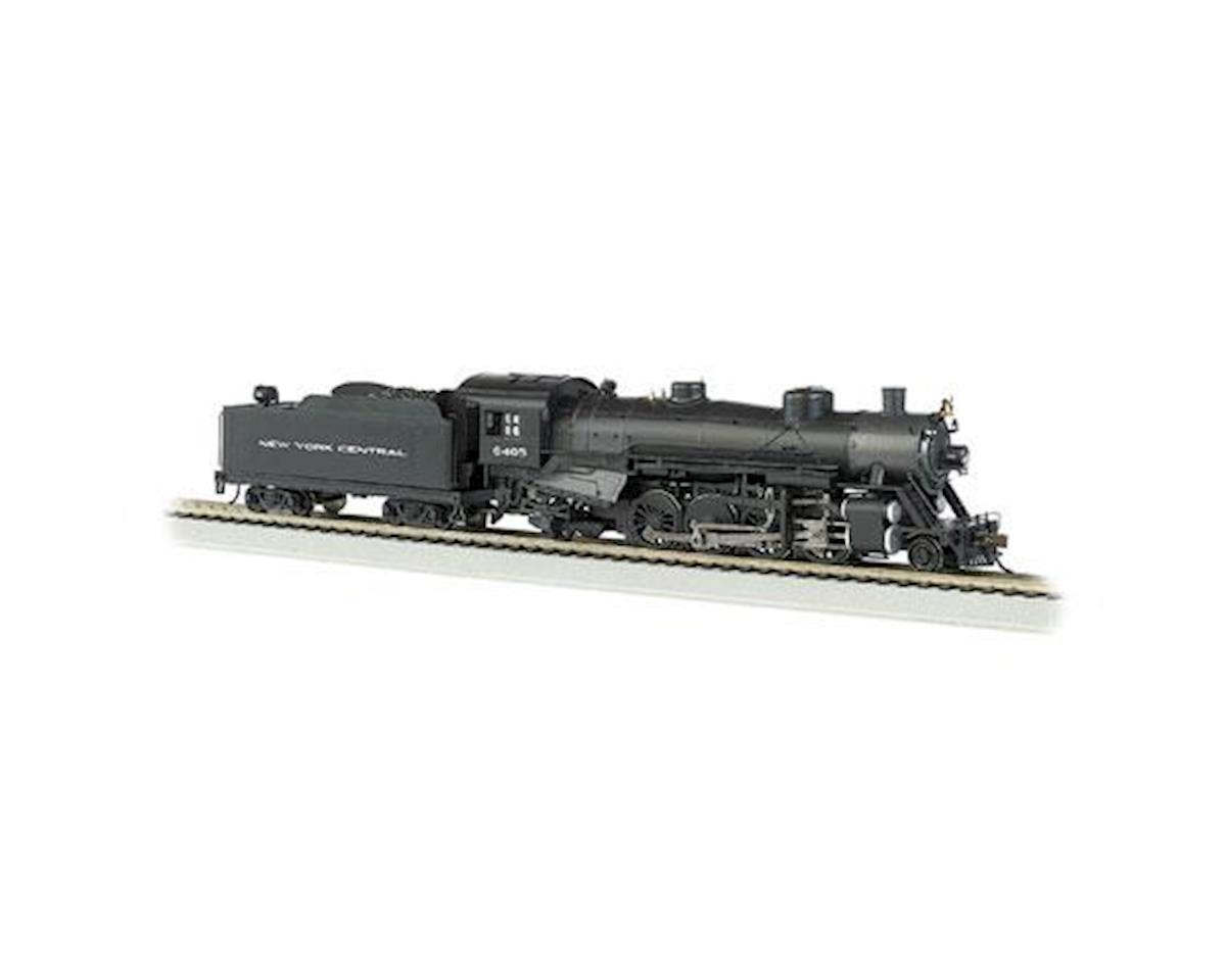 Bachmann HO 2-8-2 Light w/DCC & Sound Value, NYC #6405