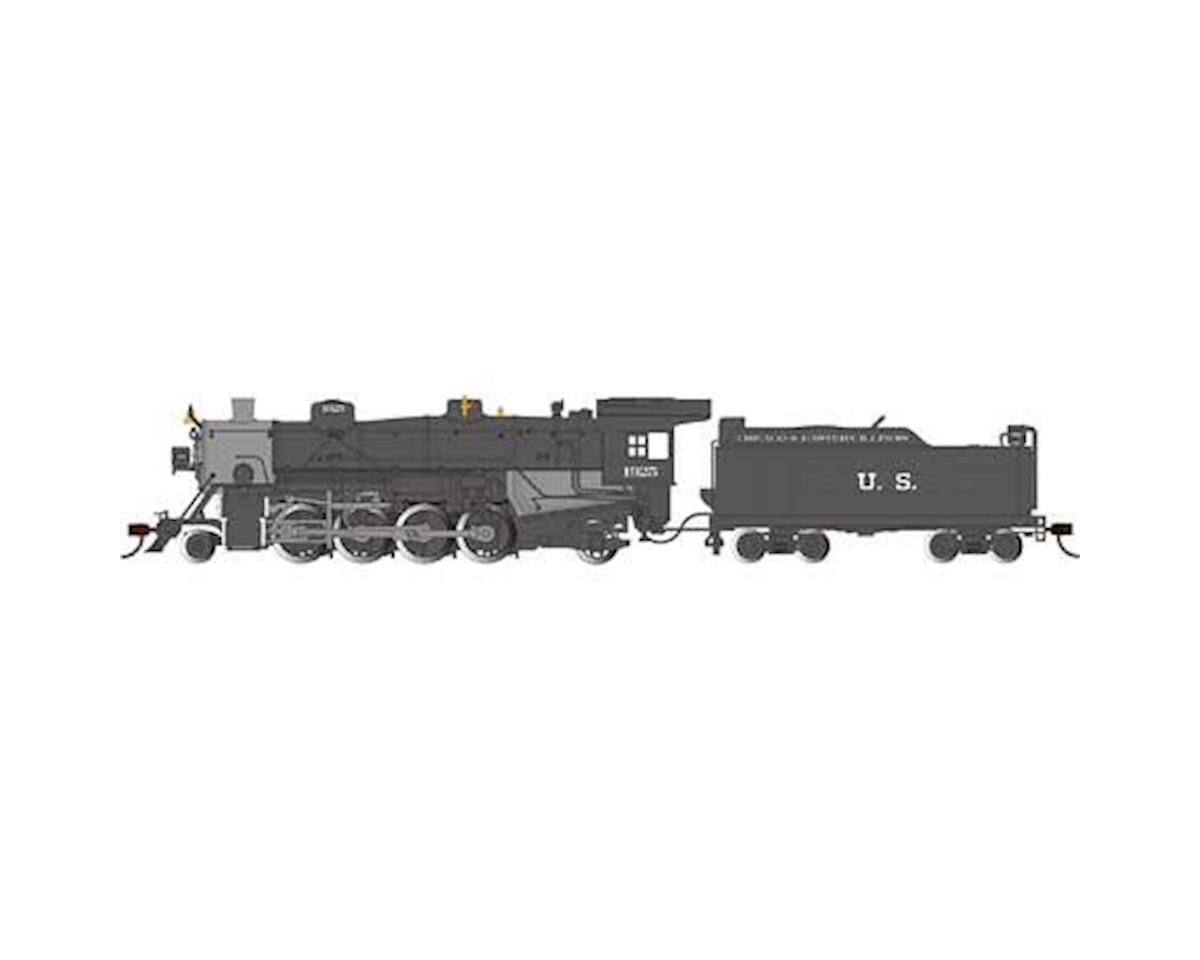 Bachmann HO 2-8-2 Light w/DCC & Sound Value, C&EI #1925