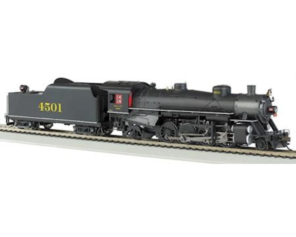 Bachmann HO 2-8-2 Light, SOU #4501