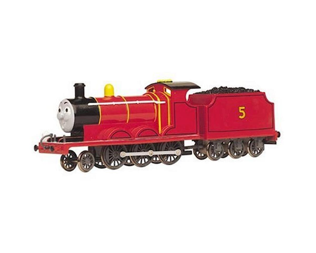 HO James the Red Engine w/Moving Eyes by Bachmann