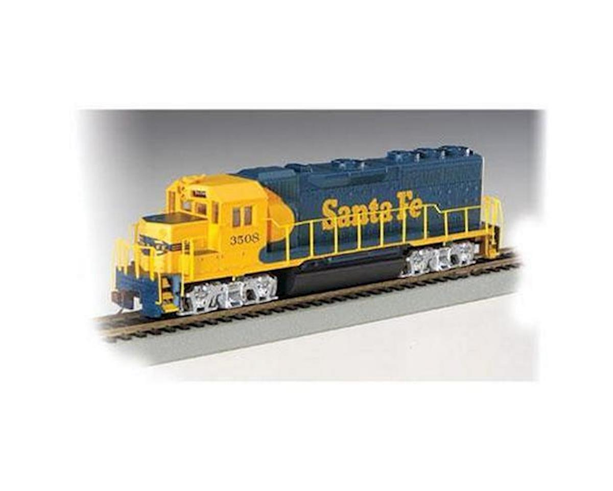 Bachmann HO GP40 w/DCC, SF/Blue/Yellow #3508