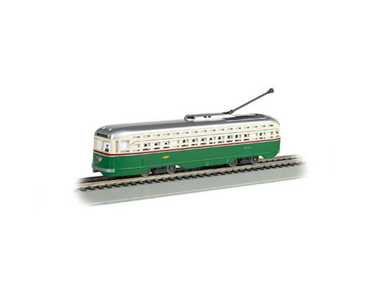 HO Streetcar w/DCC &Sound Value, PTC by Bachmann