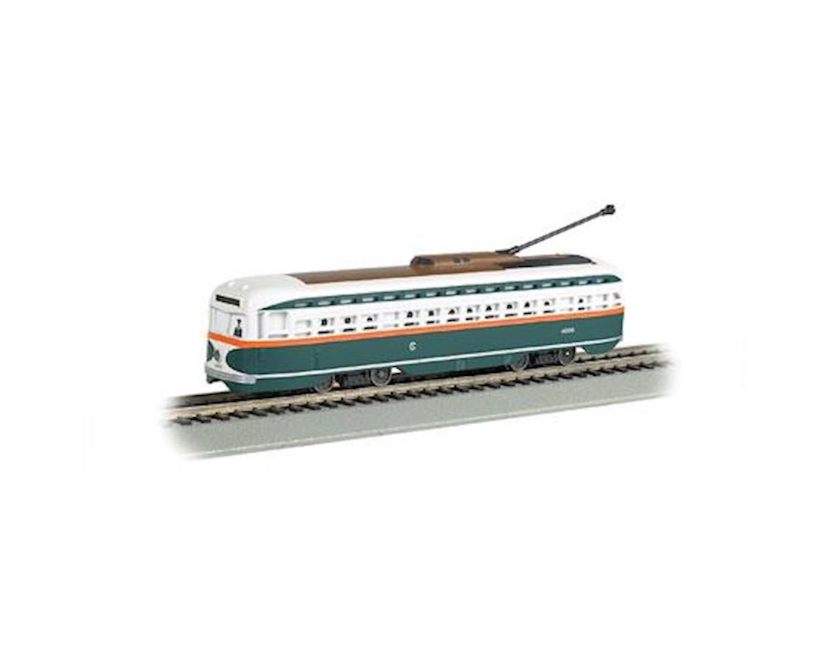 Bachmann HO Streetcar w/DCC &Sound Value, chicago