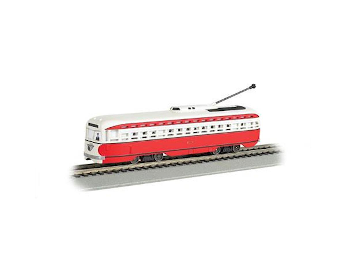 HO Streetcar w/DCC &Sound Value, Allegheny Transit by Bachmann