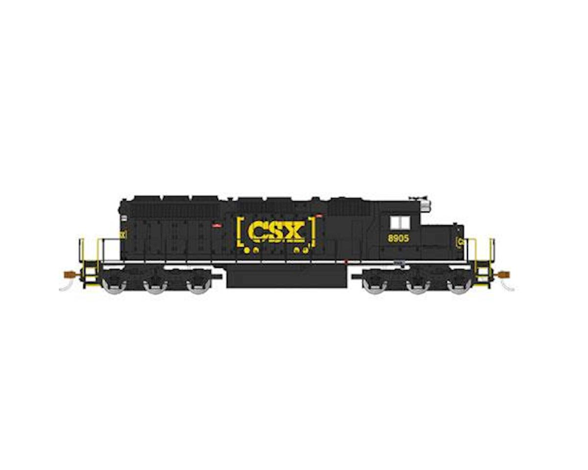 HO SD40-2 w/DCC, CSX/Black by Bachmann