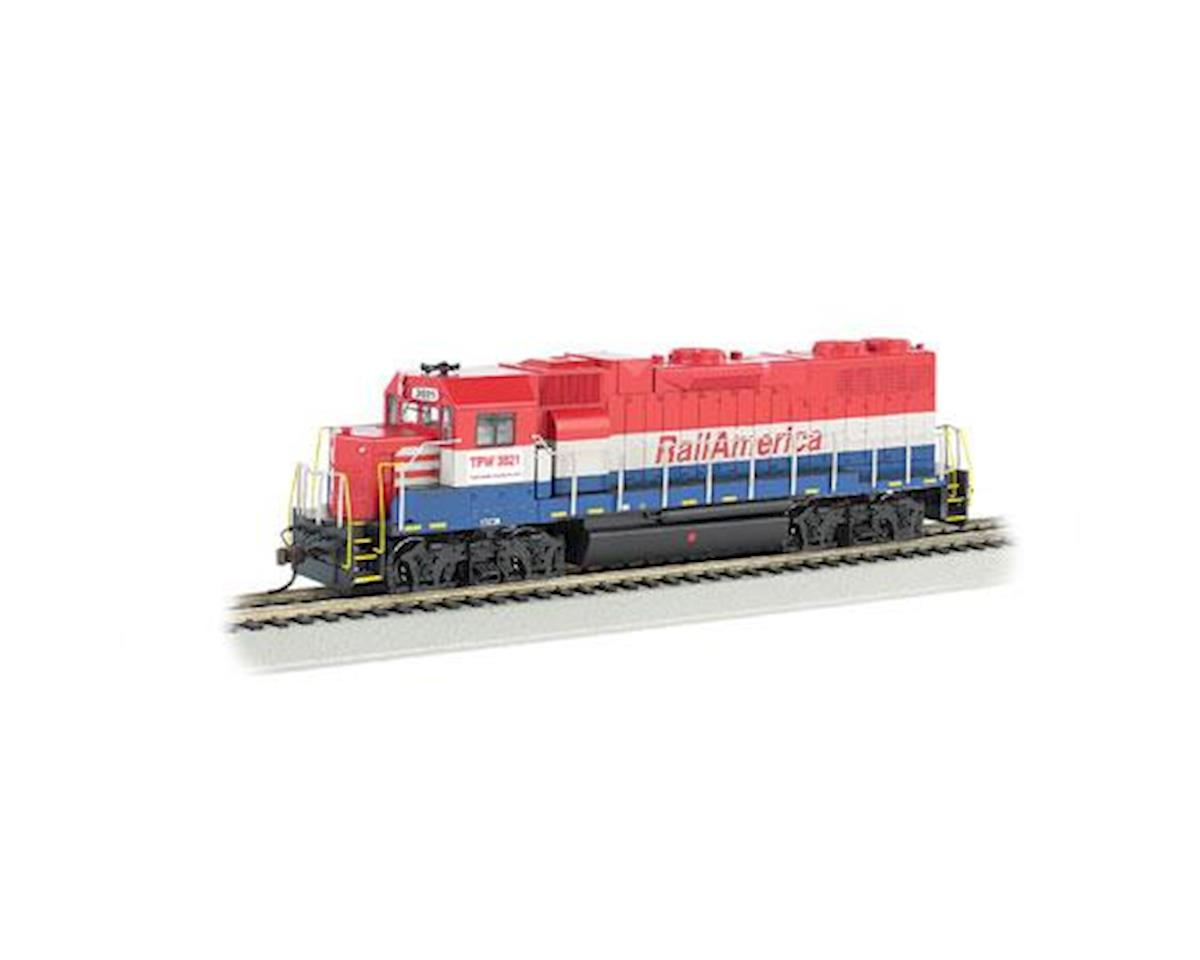 HO GP38-2, Railamerica by Bachmann